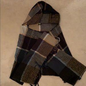 Hooded Shawl wrap